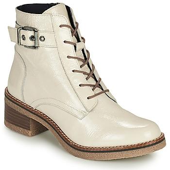 kengät Naiset Nilkkurit Dorking LUCERO Vaalea