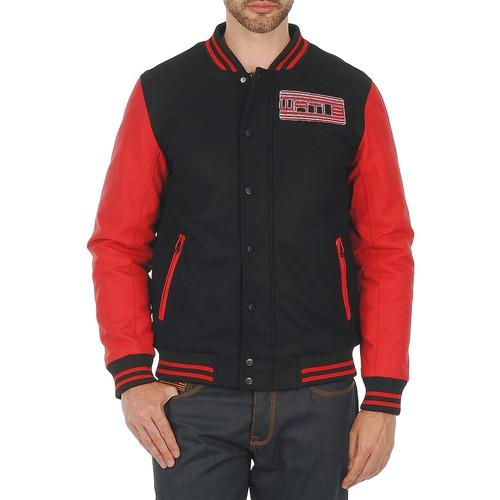 vaatteet Miehet Pusakka Wati B OUTERWEAR JACKET Black / Red