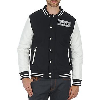 vaatteet Miehet Pusakka Wati B OUTERWEAR JACKET Black / White