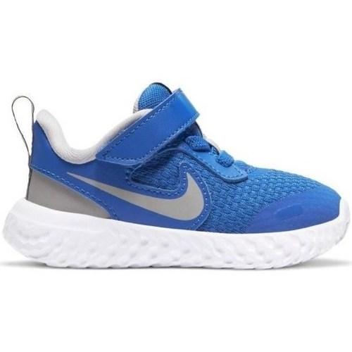 kengät Pojat Matalavartiset tennarit Nike Revolution 5 Tdv Vaaleansiniset