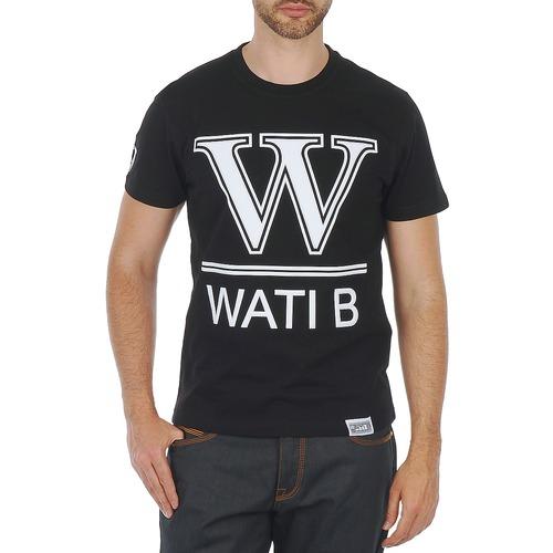 vaatteet Miehet Lyhythihainen t-paita Wati B TEE Black