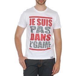 vaatteet Miehet Lyhythihainen t-paita Wati B TEE White