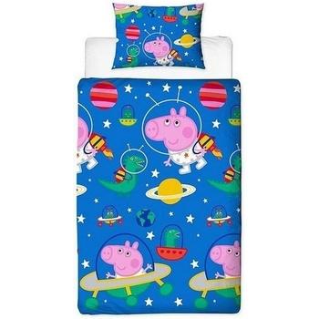 Koti Lapset Peitot Peppa Pig Taille unique Blue