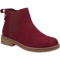 kengät Naiset Bootsit Hush puppies  Bordeaux Red