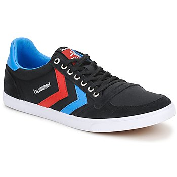 kengät Matalavartiset tennarit Hummel TEN STAR LOW CANVAS Black