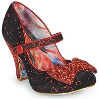 kengät Naiset Korkokengät Irregular Choice FANCY THAT Musta / Punainen