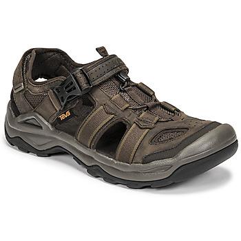 kengät Miehet Sandaalit ja avokkaat Teva M OMNIUM 2 LEATHER Ruskea