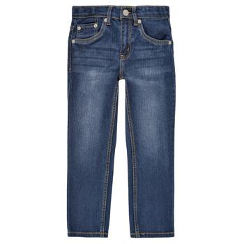 vaatteet Pojat Slim-farkut Levi's 511 SLIM FIT JEANS Sininen