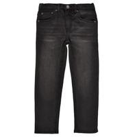 vaatteet Pojat Slim-farkut Levi's 512 SLIM TAPER Musta