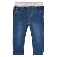 vaatteet Tytöt Skinny-farkut Levi's PULL ON SKINNY JEAN Westthird / Vaaleanpunainen