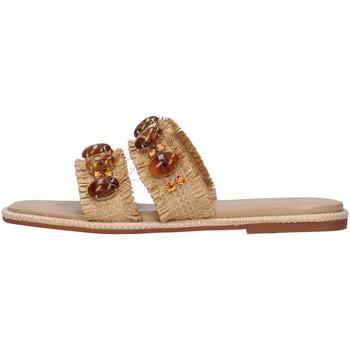 kengät Naiset Sandaalit Alma Blue V21BL9001 BEIGE