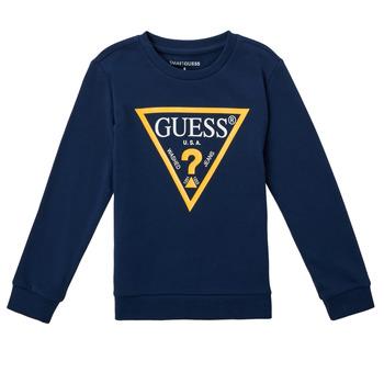 vaatteet Pojat Svetari Guess CANISE Sininen / Tumma