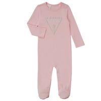 vaatteet Tytöt pyjamat / yöpaidat Guess TIFENE Vaaleanpunainen
