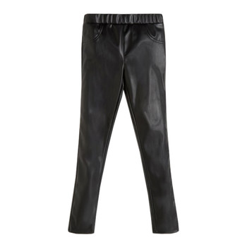 vaatteet Tytöt 5-taskuiset housut Guess PATALOT Musta