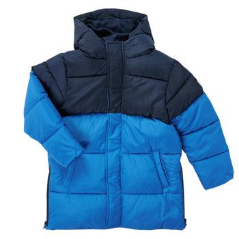 vaatteet Pojat Parkatakki Petit Bateau KAYS Sininen