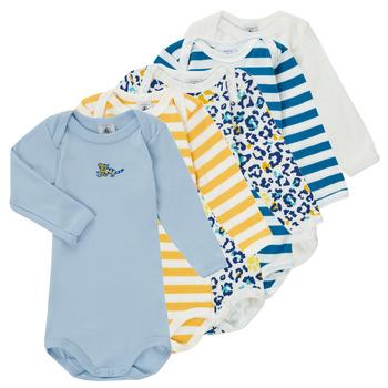 vaatteet Pojat pyjamat / yöpaidat Petit Bateau FEDDY Monivärinen