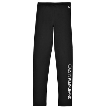 vaatteet Tytöt Legginsit Calvin Klein Jeans MERCA Musta