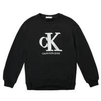 vaatteet Tytöt Svetari Calvin Klein Jeans POLLI Musta
