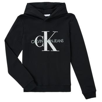 vaatteet Lapset Svetari Calvin Klein Jeans TRINIDA Musta