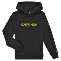 vaatteet Lapset Svetari Calvin Klein Jeans ZOPLINA Musta