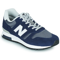 kengät Miehet Matalavartiset tennarit New Balance 565 Sininen / Harmaa
