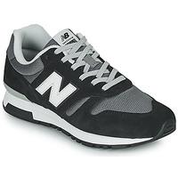 kengät Miehet Matalavartiset tennarit New Balance 565 Musta / Harmaa