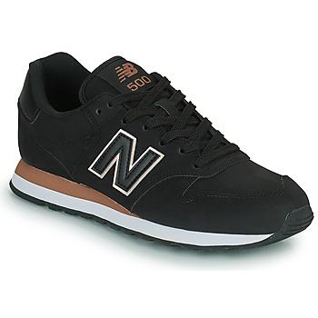 kengät Naiset Matalavartiset tennarit New Balance 500 Musta
