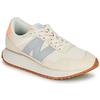 kengät Naiset Matalavartiset tennarit New Balance 237 Beige