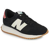kengät Naiset Matalavartiset tennarit New Balance 237 Musta / Valkoinen / Vaaleanpunainen