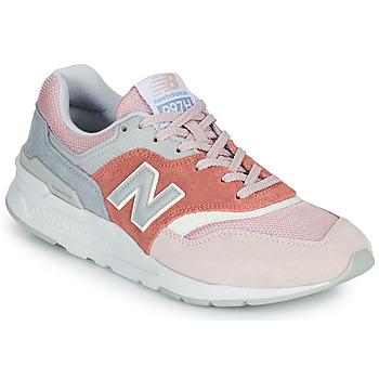 kengät Naiset Matalavartiset tennarit New Balance 997 Vaaleanpunainen / Harmaa
