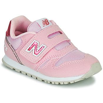 kengät Tytöt Matalavartiset tennarit New Balance 373 Vaaleanpunainen