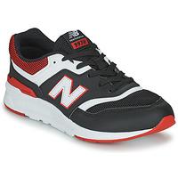 kengät Pojat Matalavartiset tennarit New Balance 997 Musta / Punainen