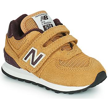 kengät Pojat Matalavartiset tennarit New Balance 574 Ruskea
