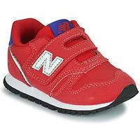 kengät Pojat Matalavartiset tennarit New Balance 373 Punainen