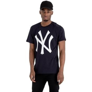 vaatteet Miehet Lyhythihainen t-paita New-Era MLB New York Yankees Sininen