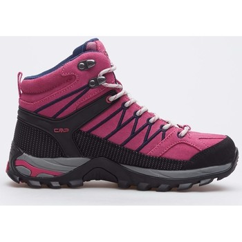 kengät Naiset Vaelluskengät Cmp Rigel Mid Wmn WP Mustat, Vaaleanpunaiset