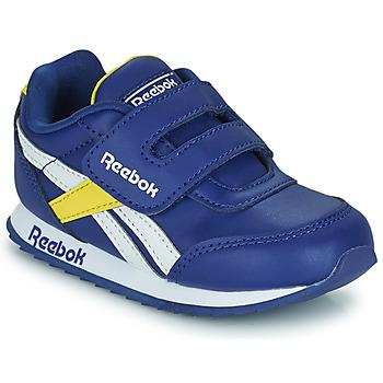 kengät Lapset Matalavartiset tennarit Reebok Classic REEBOK ROYAL CLJOG 2  KC Sininen / Keltainen / Valkoinen