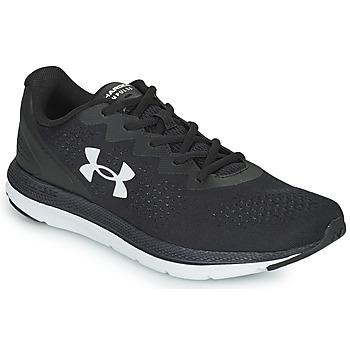 kengät Miehet Juoksukengät / Trail-kengät Under Armour CHARGED IMPULSE 2 Musta / Valkoinen