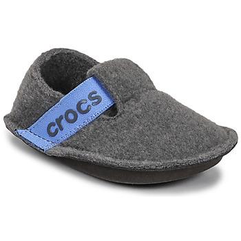 kengät Lapset Tossut Crocs CLASSIC SLIPPER K Harmaa / Sininen