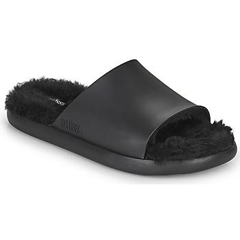 kengät Naiset Rantasandaalit Melissa MELISSA FLUFFY SIDE AD Musta