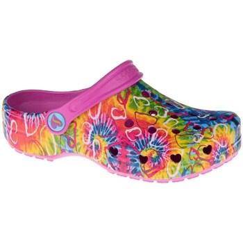 kengät Lapset Puukengät Skechers Heart Charmer Hyper Groove Vaaleansiniset, Oranssin väriset, Vaaleanpunaiset