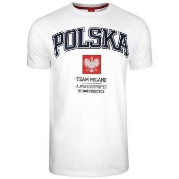 vaatteet Miehet Lyhythihainen t-paita Monotox Polska College Valkoiset
