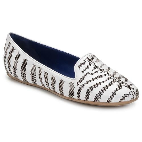 kengät Naiset Mokkasiinit Roberto Cavalli TPS648 White