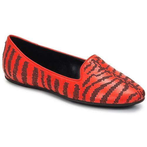 kengät Naiset Mokkasiinit Roberto Cavalli TPS648 Red