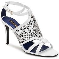 kengät Naiset Sandaalit ja avokkaat Roberto Cavalli TPS016 White