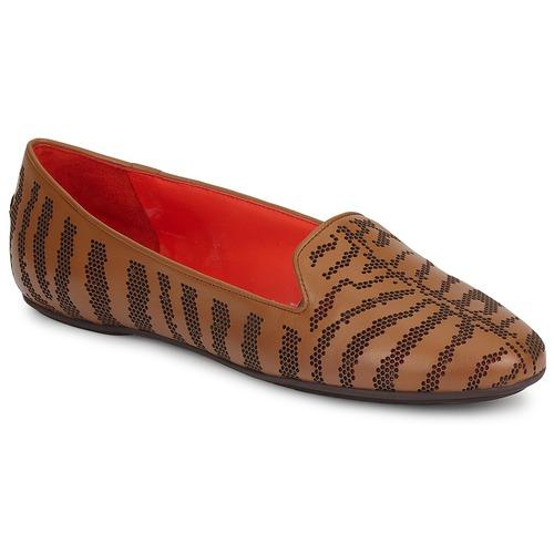 kengät Naiset Mokkasiinit Roberto Cavalli TPS648 Brown
