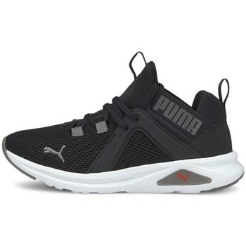 kengät Lapset Koripallokengät Puma Enzo 2 Weave JR Mustat