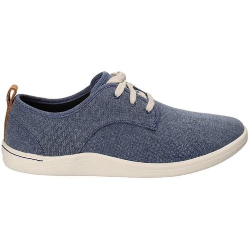 kengät Miehet Tennarit Clarks 132276 Sininen