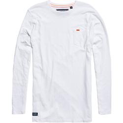 vaatteet Miehet T-paidat & Poolot Superdry M60000MR Valkoinen