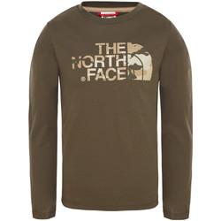 vaatteet Lapset T-paidat & Poolot The North Face T93S3B Vihreä